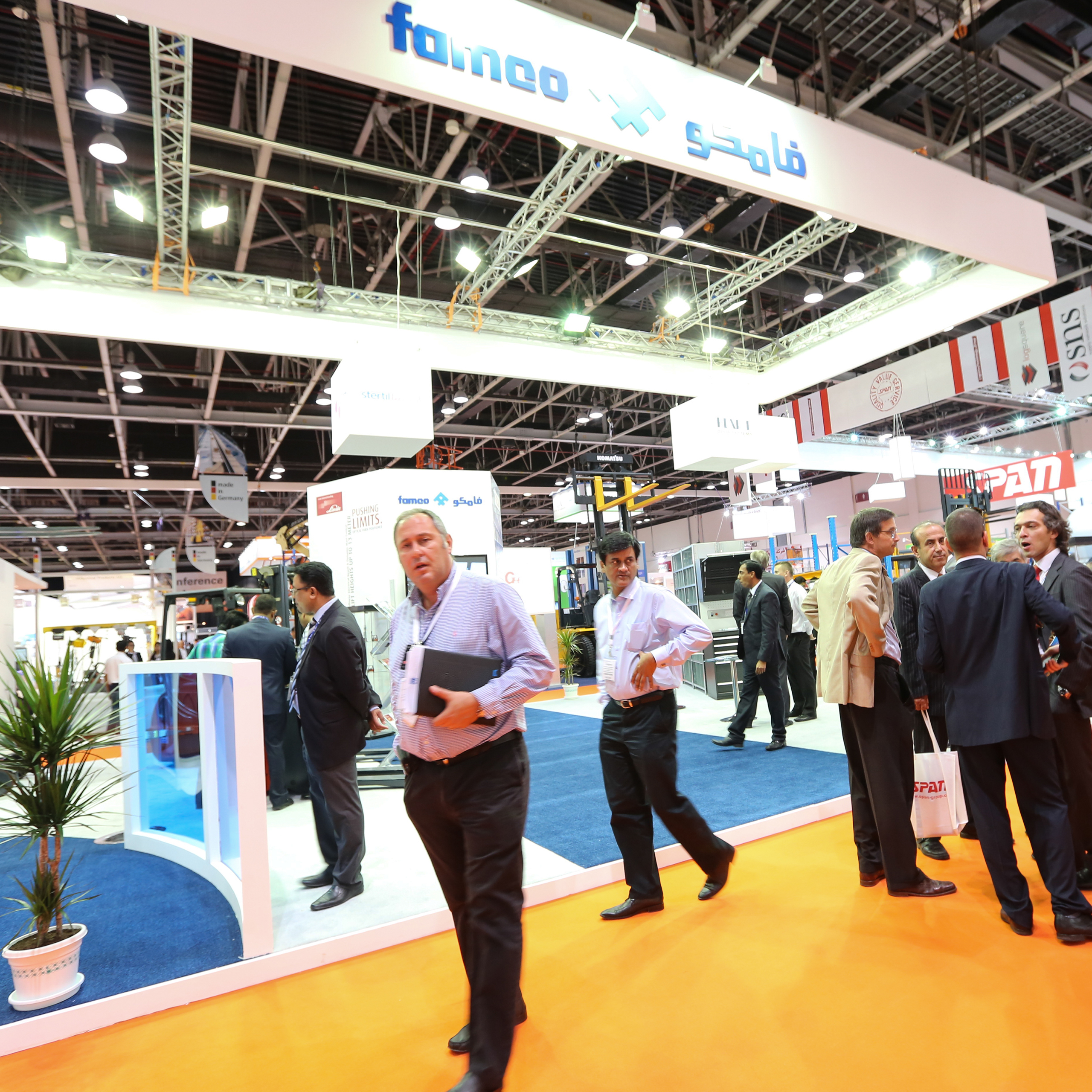 Materials Handling Middle East - FAMCO spearheads UAE charge at Materials Handling Middle East 2015 with latest warehousing and storage solutions