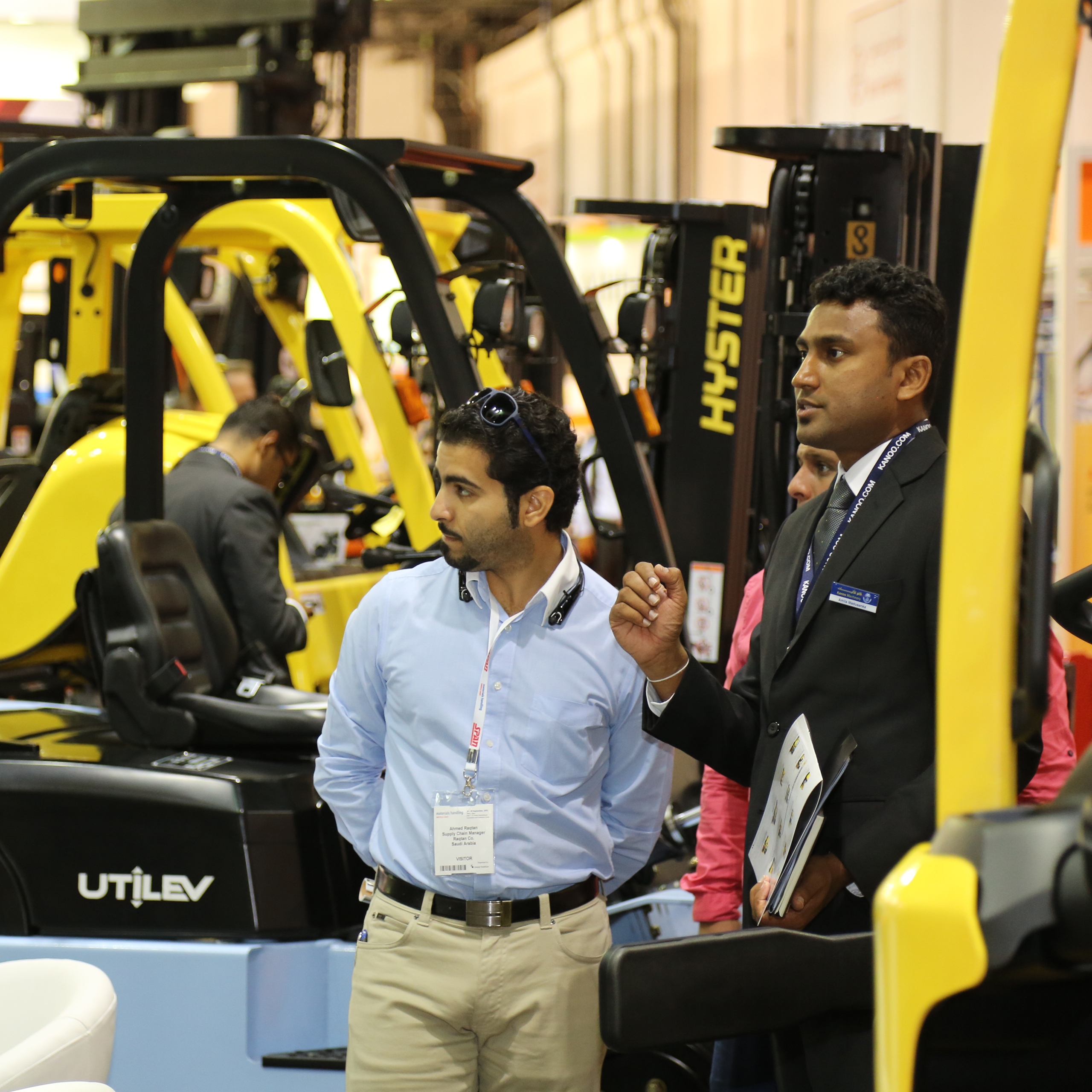 Materials Handling Middle East - Materials Handling Middle East 2015 concludes on all time high with 30 per cent surge in visitor numbers