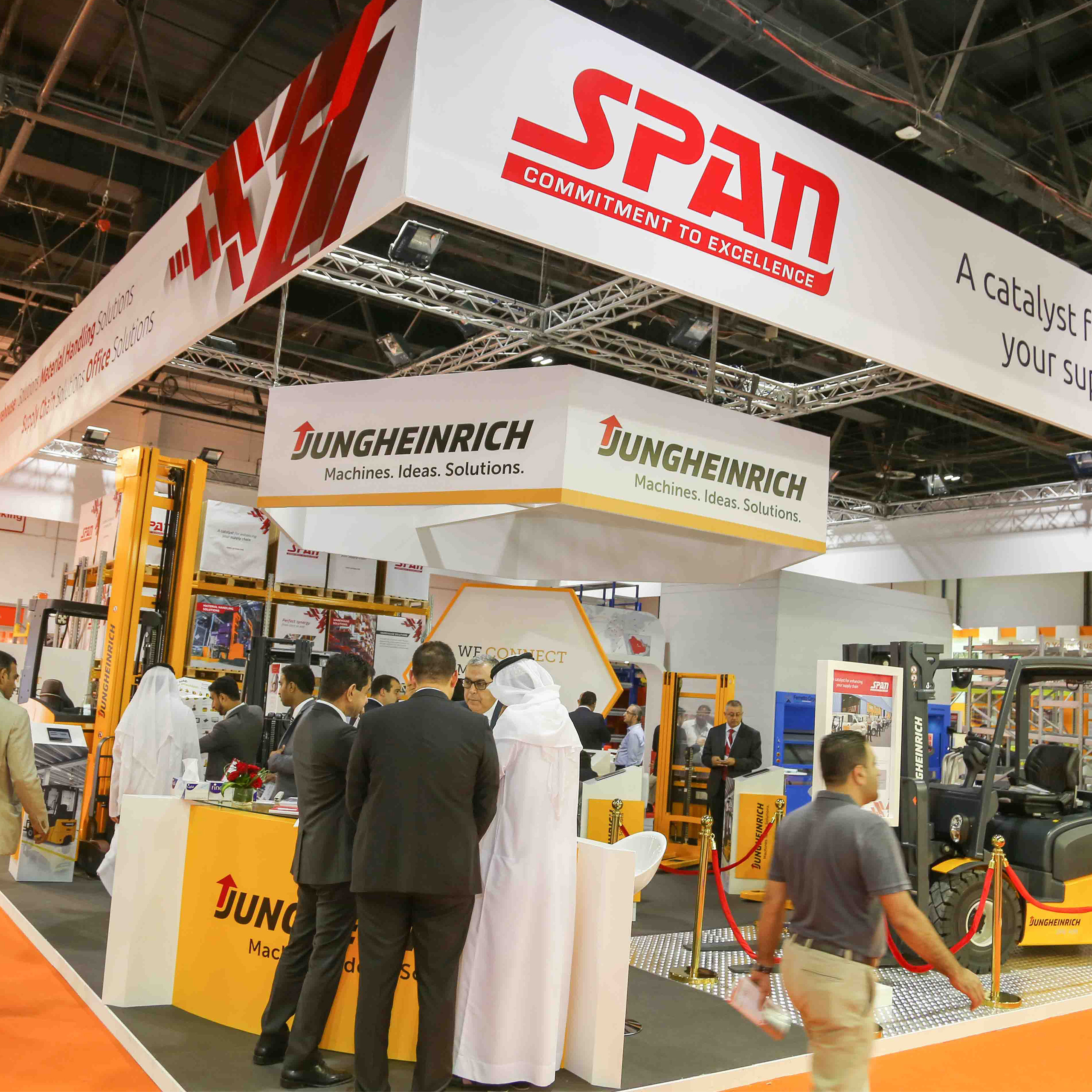 Materials Handling Middle East - Customised solutions key to business success in new logistics landscape say exhibitors at Materials Handling Middle East