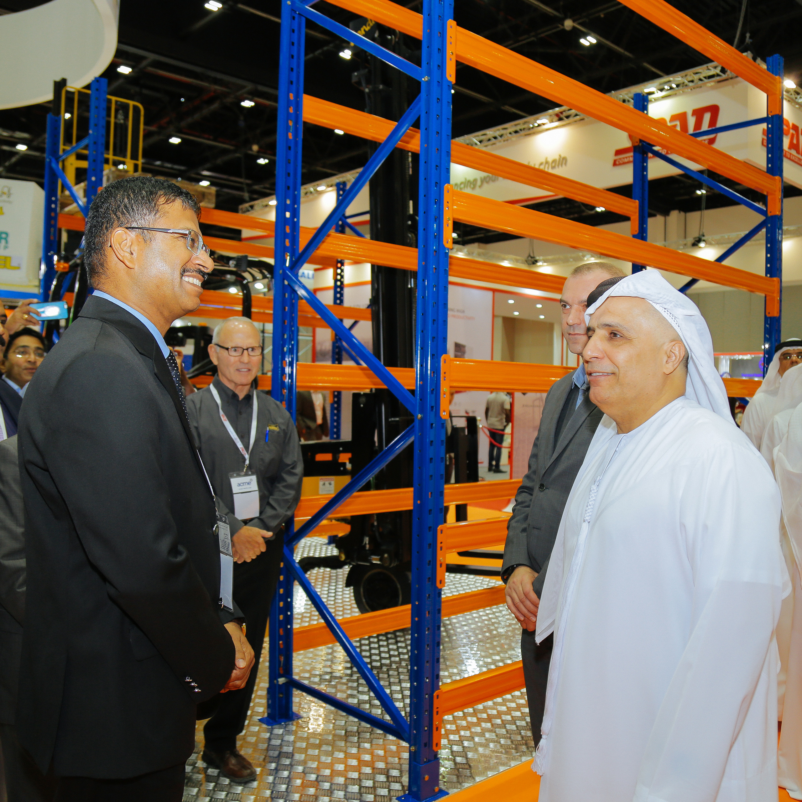 Materials Handling Middle East - Materials Handling Middle East 2017 opens in Dubai featuring 126 exhibitors from 20 countries