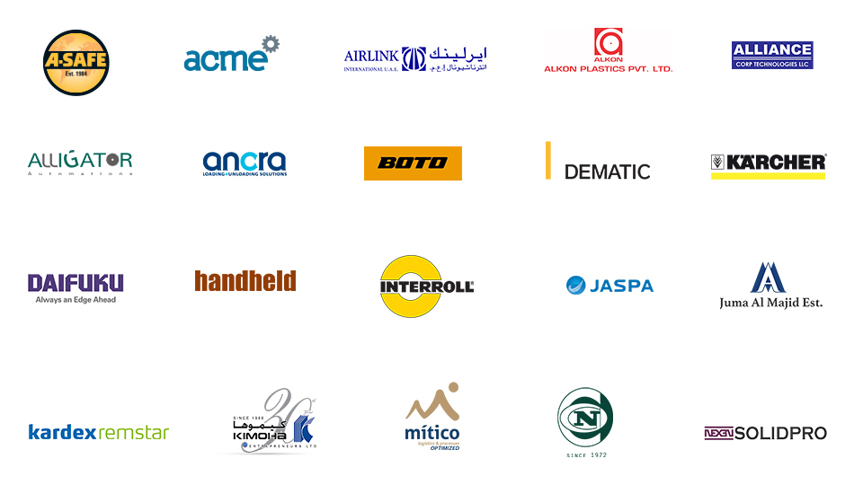 Materials Handling Middle East - 2019 Featured Exhibitors