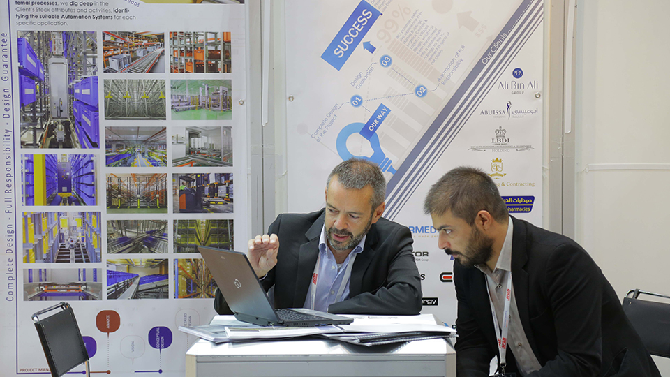 Materials Handling Middle East - Exhibiting