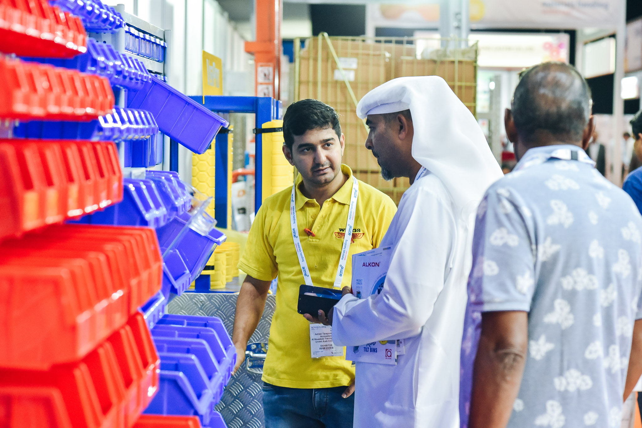 Materials Handling Middle East - Leaders in Warehousing