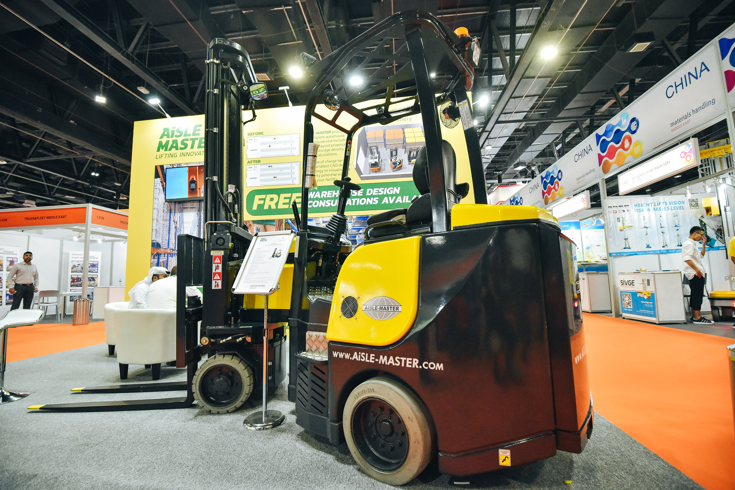 Materials Handling Middle East - Product Groups