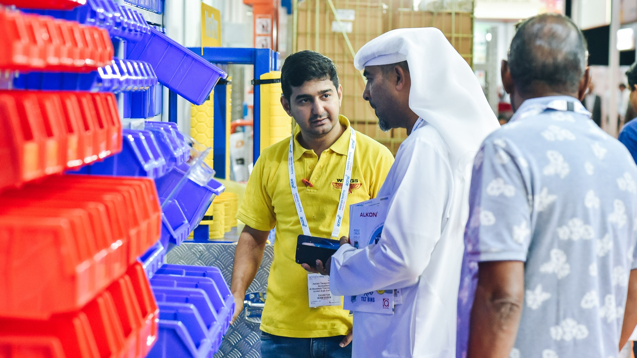 Materials Handling Middle East - Exhibitors list